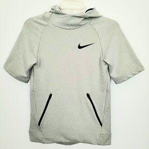 Nike Dri fit short sleeve and huddie